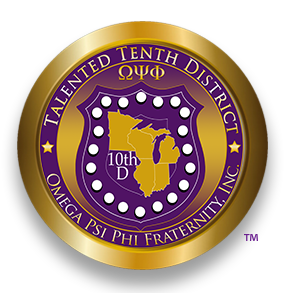 Talented Tenth District | ΩΨΦ Fraternity, Inc. Logo